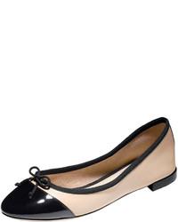Black and tan ballerina shoes original 10399271