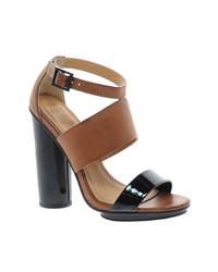 Asos Hocus Heeled Sandals