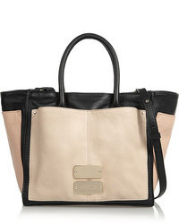 See by chlo nellie small color block leather tote medium 100937
