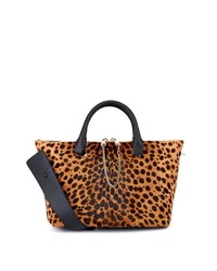 Baylee calf hair and leather tote medium 116887