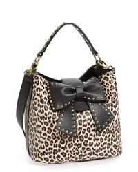 Betsey Johnson Betsy Johnson Bucket Bag Leopard