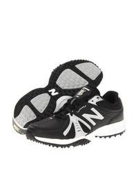 Black and White Athletic Shoes