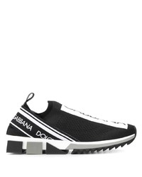 Dolce & Gabbana Sorrento Slip On Logo Sneakers