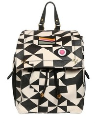 Black and White Backpack
