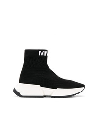 MM6 MAISON MARGIELA High Socks Style Sneakers