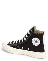 Comme des Gar?ons Women's X Converse Chuck Taylor Hidden Heart High Top Sneaker QeA00nJk
