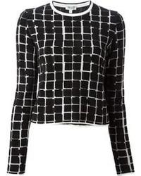 Squares sweater medium 85731