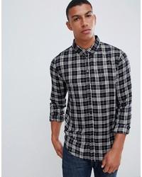 Another Influence Viscose Check Shirt
