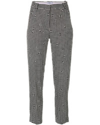 Checked tapered trousers medium 6834120