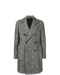 Tagliatore Chevron Double Breasted Coat