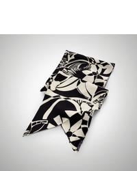 Ralph Lauren Floral Art Deco Silk Scarf