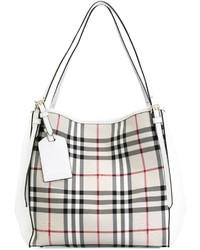 Burberry Canter In Horseferry Check Tote