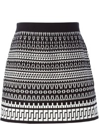 Geometric jacquard skirt medium 347139