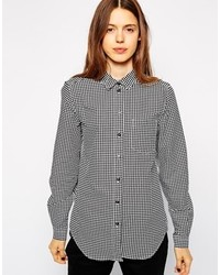 Gingham shirt medium 116015