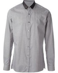 Gingham check shirt medium 100285