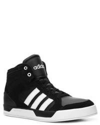 Black and white high top sneakers original 4253039