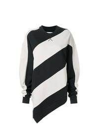 MARQUES ALMEIDA Marquesalmeida Striped Print Sweatshirt
