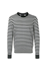 Ps By Paul Smith Striped Knit Sweater