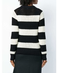 Proenza Schouler Striped Long Sleeve Sweater