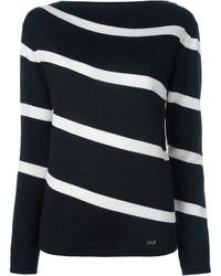 Salvatore Ferragamo Striped Sweater
