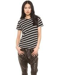 R13 boy t shirt with stripes medium 46382