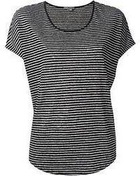 Striped t shirt medium 51808