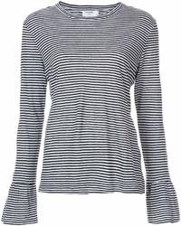 Frame Denim Striped Longlseeved T Shirt
