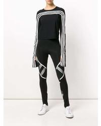Long sleeve signature stripe t shirt medium 7724930