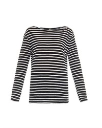 R 13 R13 Striped Cotton T Shirt