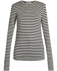 Raey Ry Long Sleeved Striped T Shirt