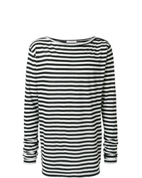 Faith Connexion Striped Long Sleeve T Shirt