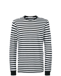 Golden Goose Deluxe Brand Striped Long Sleeve T Shirt