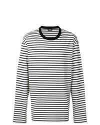 Diesel Striped Long Sleeve T Shirt