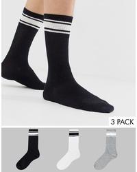 Bershka Join Life Multi Packs Socks With Stripes