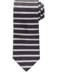 Bank horizontal stripe tie out of stock ralph lauren bla stripe