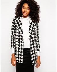 Houndstooth jacket medium 132654