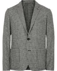Unstructured houndstooth wool blazer medium 339922