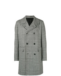 Givenchy Houndstooth Double Breasted Coat