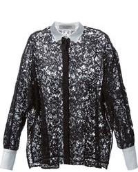 Lace shirt medium 84625
