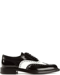 Colour block brogues medium 130507