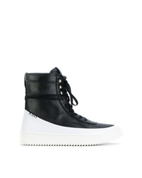 Newams Hi Top Lace Up Sneakers