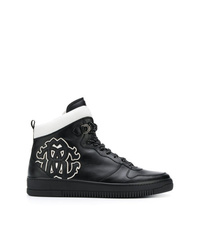 Roberto Cavalli Side Logo Hi Top Sneakers