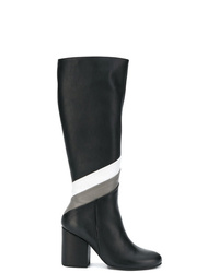 Paloma Barceló Striped Knee Length Boots