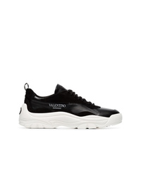 Valentino Black Chunky Sole Sneakers