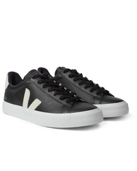 Veja Campo Suede Trimmed Leather Sneakers