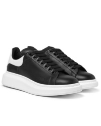 Alexander McQueen Exaggerated Sole Leather Sneakers
