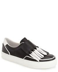 Fringe sneaker size 8us 38eu black medium 428480