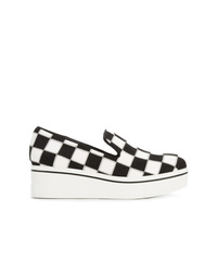 Stella McCartney Checkerboard Platform Sneakers