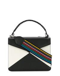 Les Petits Joueurs Black And White Shoulder Bag