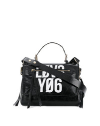 RED Valentino Red Contrast Tote Bag